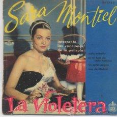 Discos de vinilo: SARA(SARITA)MONTIEL,MALA ENTRAÑA 1ª EDICION. Lote 222096738