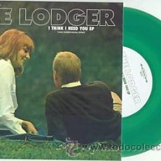 Discos de vinilo: SINGLE EP THE LODGER I THINK I NEED YOU LEEDS VINILO. Lote 97851928