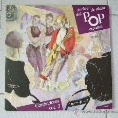 Discos de vinilo: PATXI ANDION - LUIS EDUARDO AUTE - 2 LP'S - CUADERNILLO CON LAS LETRAS. Lote 24700556