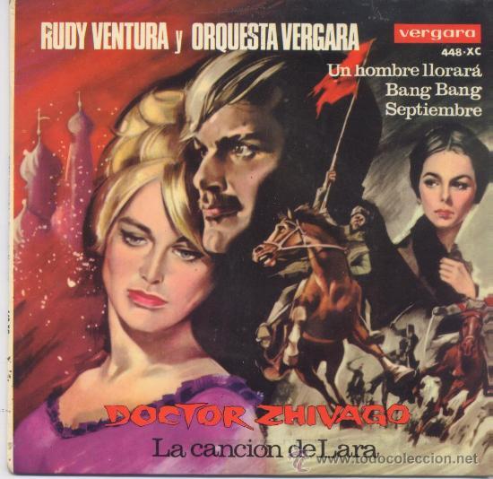 RUDY VENTURA,DOCTOR ZHIVAGO DEL 66 (Música - Discos - Singles Vinilo - Grupos Españoles 50 y 60)