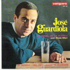 Discos de vinilo: JOSE GUARDIOLA - EL ANGEL DE LA GUARDIA *** YEH YEH ***EP VERGARA 1965. Lote 17586464