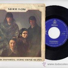 Discos de vinilo: MODULOS. 45 RPM. NADA ME IMPORTA+TODO TIENE SU FIN. HISPAVOX AÑO 1969. Lote 27082244