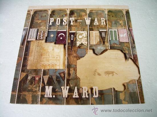 LP M. WARD POST- WAR VINILO + MP3 (Música - Discos - LP Vinilo - Pop - Rock Extranjero de los 90 a la actualidad)