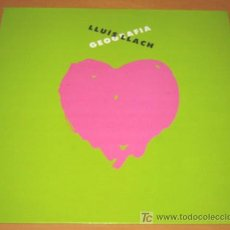 Disques de vinyle: LLUIS LLACH - GEOGRAFIA - LP - CBS 1988 - 462583 CON LETRAS - NUEVO / MINT. Lote 27283565