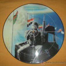 Discos de vinilo: IRON MAIDEN 2 MINUTES TO MIDNIGHT PICTURE DISC. Lote 13853590