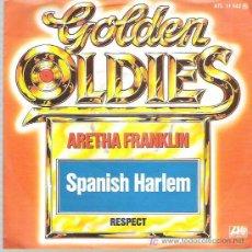 Discos de vinilo: ARETHA FRANKLIN - SPANISH HARLEN / RESPECT **** ATLANTIC RECORDS. Lote 18111196