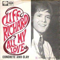 Vinyl-Schallplatten - cliff richard - all my loving / concrete and clay ***emi odeon 1968 - 14628927