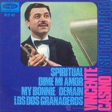 Discos de vinilo: VINCENTE CASINO - SPIRITUAL - EP RARO DE JAZZ LATINO DE 1966. Lote 21185810