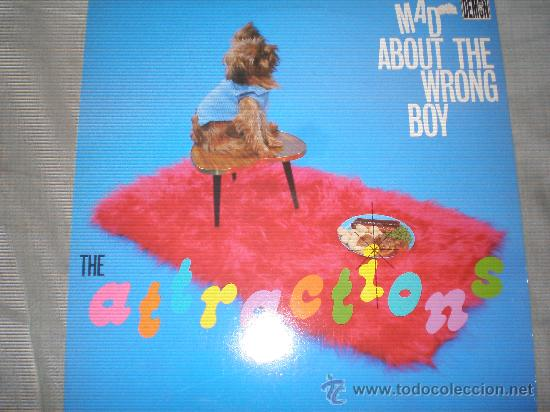THE ATTRACTIONS-MAD ABOUT THE WRONG BOY-DEMON RECORDS 1980.ED.UK. (Música - Discos - LP Vinilo - Pop - Rock - New Wave Extranjero de los 80)