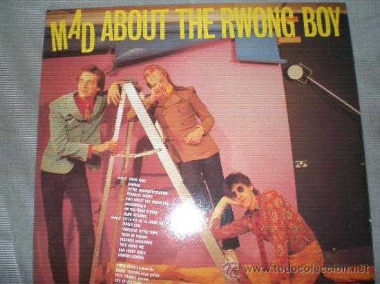 Discos de vinilo: THE ATTRACTIONS-MAD ABOUT THE WRONG BOY-Demon records 1980.Ed.UK. - Foto 2 - 26339111