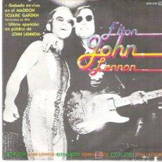 Discos de vinilo: ELTON JHON - JHON LENNON - NOV DE 1974 ULTIMA APARICION DE JHON LENNON EN PUBLICO ZAFIRO 1981. Lote 13879114