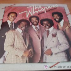 Discos de vinilo: THE WHISPERS ( AND THE BEAT GOES ON ) LP 1979 FRANCIA ( EX / EX ) . Lote 13882346