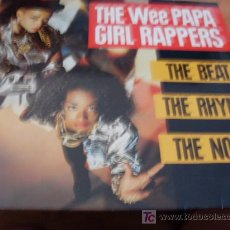 Discos de vinilo: WEE PAPA GIRL RAPPERS ( THE BEAT THE RHYME THE NOISE ) 12 INCH MAXI 1988 USA ( VG+ / VG+ ) . Lote 13882513