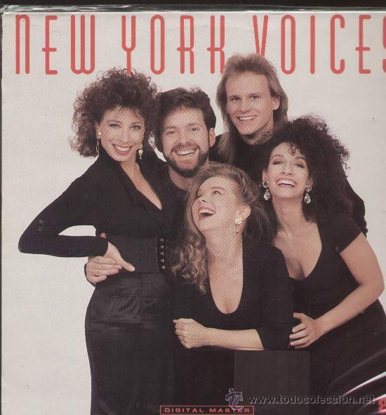 NEW YORK VOICE (LP GRP 1989) (Música - Discos - LP Vinilo - Pop - Rock Extranjero de los 90 a la actualidad)