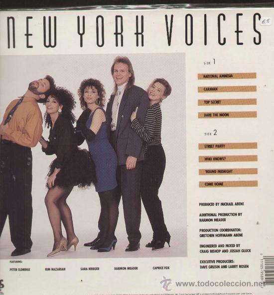 Discos de vinilo: NEW YORK VOICE (LP GRP 1989) - Foto 2 - 13888498