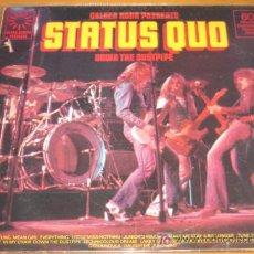 Discos de vinilo: STATUS QUO - DOWN THE DUSTPIPE - GOLDEN HOUR OF STATUS QUO - LP - G.H. 1975 UK. Lote 25318114
