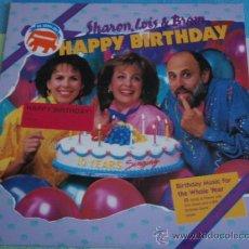 Discos de vinilo: SHARON, LOIS & BRAM ( HAPPY BIRTHDAY ) USA - 1988 LP33 ELEPHANT RECORDS. Lote 13910041