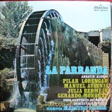 Discos de vinilo: LP - LA PARRANDA - ARDAVIN ALONSO. Lote 13937062
