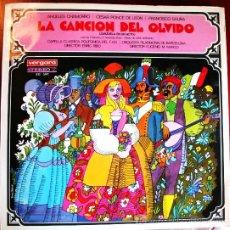 Discos de vinilo: LP - LA CANCIÓN DEL OLVIDO - ROMERO /FERNANDEZ SHAW/SERRANO. Lote 13979456