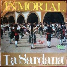 Discos de vinilo: LP - INMORTAL - LA SARDANA. Lote 25353600