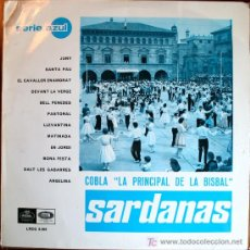 Discos de vinilo: LP - SARDANAS - COBLA LA PRINCIPAL DE LA BISBAL. Lote 25353601