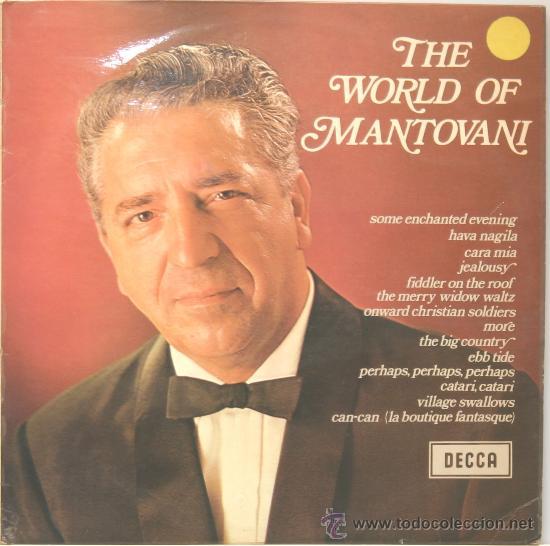 THE WORLD OF MANTOVANI LP DECCA 1968 (Música - Discos - LP Vinilo - Orquestas)