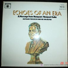 Discos de vinilo: ECHOES OF AN ERA A MESSAGE FROM NEWPORT/NEWPORT SUITE - MAYNARD FERGUSON AND HIS ORCHESTRA 2LP 1979. Lote 26987915