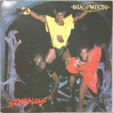 Discos de vinilo: IMAGINATION SCANDALOUS LP PORTADA DOBLE ARIOLA 1983. Lote 13975375