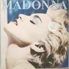 Discos de vinilo: MADONNA TRUE BLUE LP CBS 1986. Lote 13983077