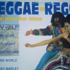 Discos de vinilo: REGGAE-REGGAE(JIMMY CLIFF,BOB MARLEY Y OTROS) DEL 93 DOBLE LP. Lote 13989667