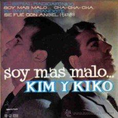 Discos de vinilo: KIM Y KIKO-SOY MAS MALO... + EL SERIAL RADIOFONICO + EL CANTE GRANDOTE + SE FUE CON ANGEL EP 1961 . Lote 14002424