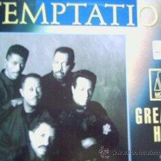 Discos de vinilo: THE TEMPTATIONS,GREATEST HITS DEL 92. Lote 14004245