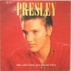 Discos de vinilo: ELVIS PRESLEY THE ALL TIME GREATEST HITS -DOBLE CARPETA 2 LP RCA 1988. Lote 14013873