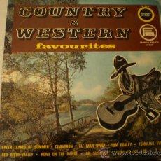 Discos de vinilo: LP. COUNTRY & WESTERN. AÑO 1965. Lote 14014340