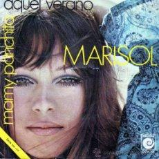 Discos de vinilo: MARISOL SINGLE MAMY PANCHITA / AQUEL VERANO. Lote 14032153