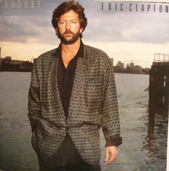 ERIC CLAPTON / AUGUST (Música - Discos - LP Vinilo - Rock & Roll)