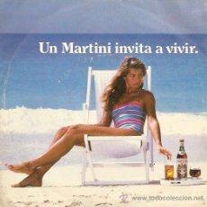 Discos de vinilo: DISCO PROMOCIONAL UN MARTINI INVITA A VIVIR AÑO 1984. Lote 14057479