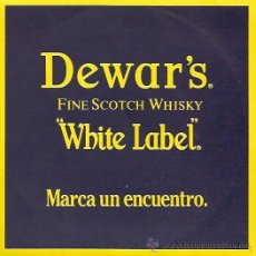 Discos de vinilo: DISCO PROMOCIONAL DEL WHISKY WHITE LABEL AÑO 1987. Lote 14057516