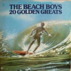 Discos de vinilo: THE BEACH BOYS / 20 GOLDEN GREATS. Lote 14058669