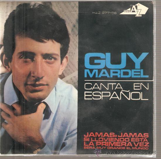 EP EUROVISION 1965 - GUY MARDEL - JAMAS JAMAS (Música - Discos de Vinilo - EPs - Festival de Eurovisión)