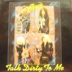 Discos de vinilo: POISON-TALK DIRTY TO ME MAXI SINGLE VINILO 1986 (ENGLAND). Lote 14080421