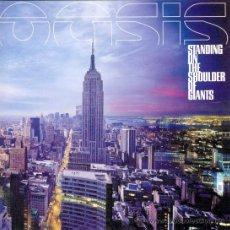 Discos de vinilo: LP OASIS STANDING ON THE SHOULDER OF GIANTS EDICION VINILO 2018. Lote 152879221