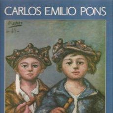 Discos de vinilo: LP GALICIA - CARLOS EMILIO PONS : UHNA CANTIGA DO PLATA . Lote 19582314