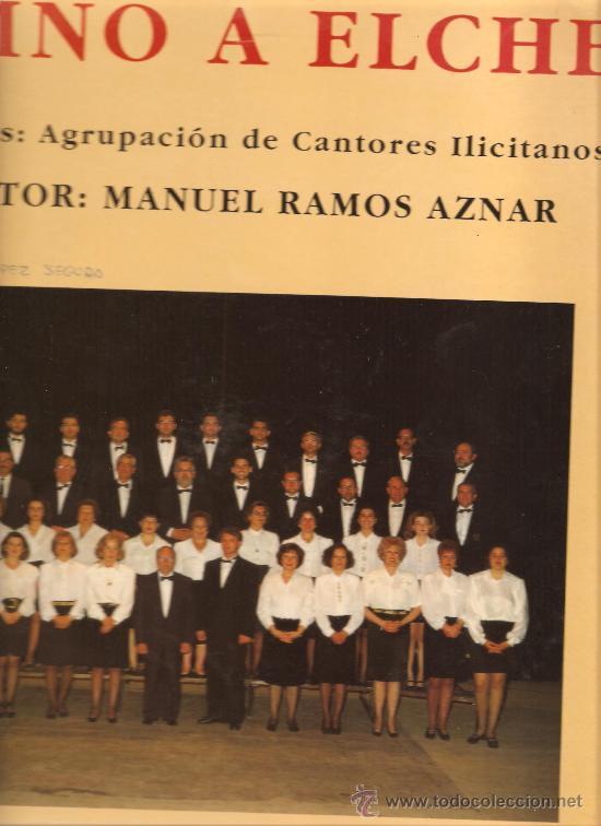 MAXI SINGLE AGRUPACION DE CANTORES ILICITANOS - HIMNO A ELCHE (Música - Discos de Vinilo - Maxi Singles - Étnicas y Músicas del Mundo)