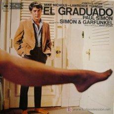 Discos de vinilo: SIMON AND GARFUNKEL / BANDA SONORA DE EL GRADUADO. Lote 14107925