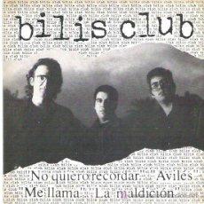 Discos de vinilo: BILIS CLUB - NOQUIERO RECORDAR *** EP ARREBATO RECORDS 1992 . Lote 17065747