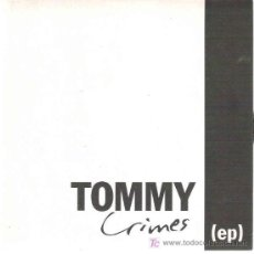 Discos de vinilo: TOMMY CRIMES - RETURN ***SUTERFUGE ***1995 EP. Lote 17065748