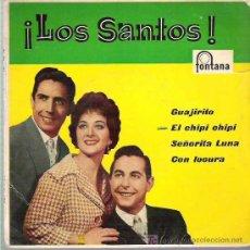 Discos de vinil: LOS SANTOS - EL CHIPI CHIPI ***EP FONTANA 1960. Lote 18934837