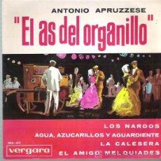 Discos de vinilo: ANTONIO APRUZZESE - LOS NARDOS ** EP VERGARA 1964. Lote 14915133