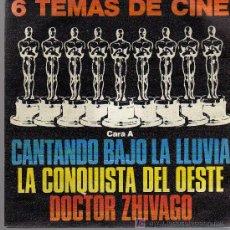 Discos de vinilo: SINGLE - 6 TEMAS DE CINE - VV.AA.. Lote 14148104